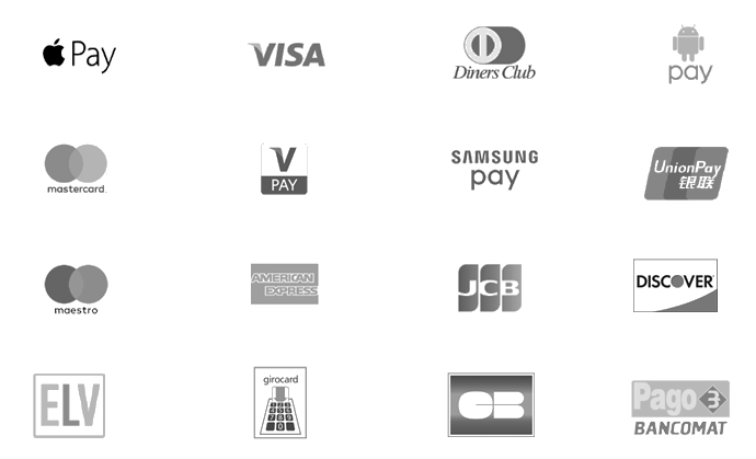 Supported payment methods